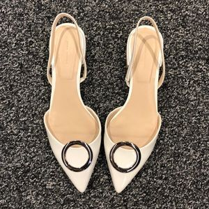 Zara slingback low heels